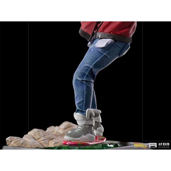 *PRE ORDER* Back To The Future Part 2 Marty Mcfly on Hoverboard Limited Edition Art Scale Statue
